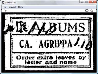 Agrippa (a book of the dead) : strona  tytułowa
