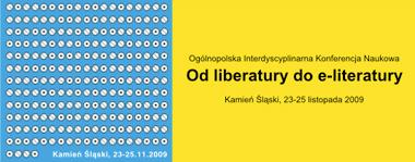 Od liberatury do e-literatury