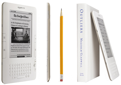 Kindle 2 - cieńszy niż iPhone