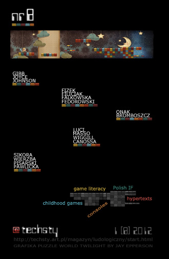 Techsty 2012 nr 1 (8) magazyn ludologiczny
