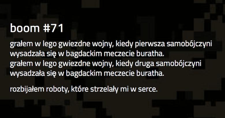 Booms - Piotr Puldzian Płucienniczak