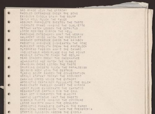 Poezja generatywna – J.M Coetzee